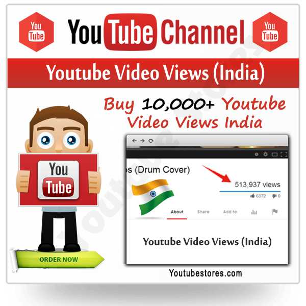 India Youtube Video Views