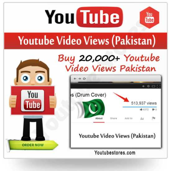 Pakistan Youtube Video Views