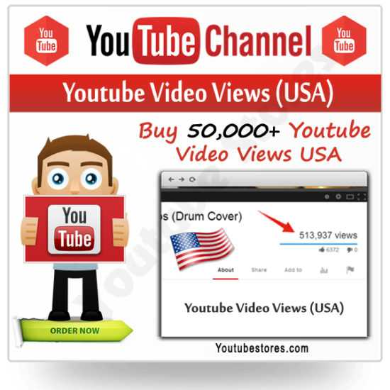USA Youtube Video Views