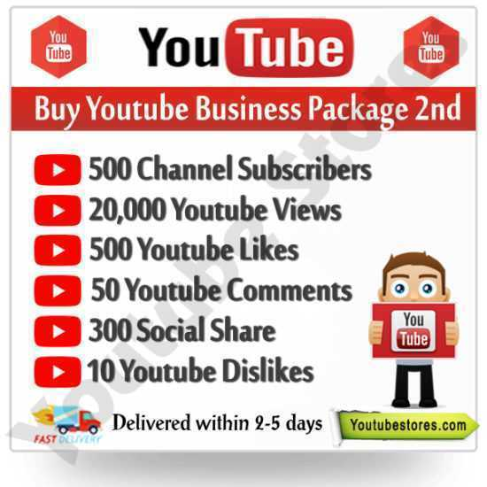 Buy Youtube Business Package 2nd